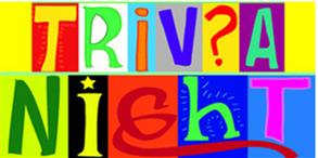 Trivia Night Sat 2 September